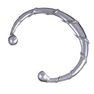 Spiral Torc Bangle Large SJ-TB01