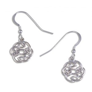Lugh`s knot earrings silver JS-JSE02