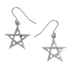 Pentagram earrings small SJ-PE14