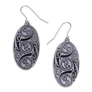 Lindesfarne spiral earrings SJ-PE23