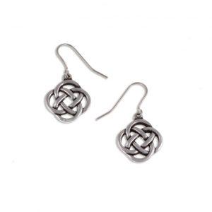 Square knot drop earrings SJ-PE27