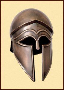 Korinthische  Helm in Antiek Look