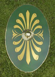 Romischen Kavallerie - Schild Auxiliartruppen