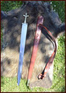 Keltisch Langzwaard met Schede