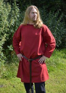 Romeinse Tuniek in Rood