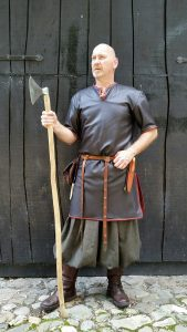 Viking Tuniek Leder