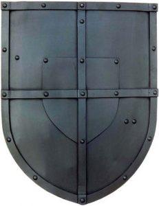 Battle Ready Kruisvaarders Schild