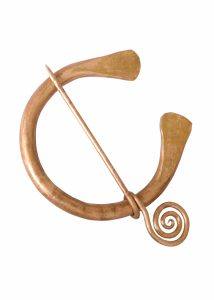 Ringfibel aus Bronze
