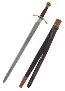 Templar Schwert mit Scheide