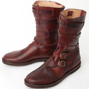 Middeleeuwse Laarzen in maat 45 ( aanbieding )