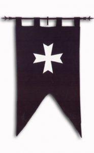 Hospitaller Flagge