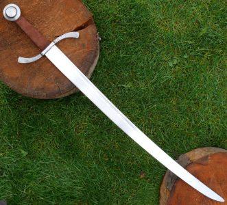 Mittelalter Bogenschutzen Falchion Schwert Schaukampf
