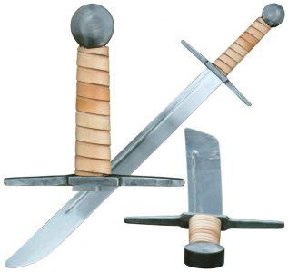 Falchion zwaard Gotisch