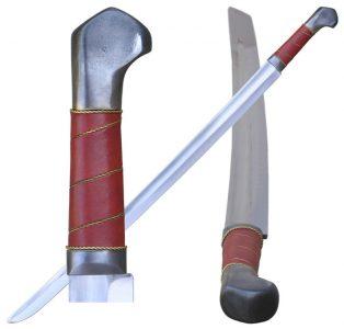 Mittelalter Bogenschützenschwert Schaukampf Klasse B