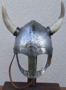 Vikinghelm met Hoorns