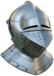Toernooi Helm 16e eeuws