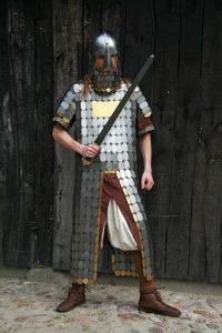Lamel pantser 12e - 13e eeuws