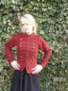 Mittelalter Weste Rot