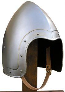 Bascinet Helm 14-15e eeuws