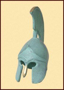 Miniatuur Korinther helm