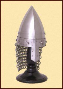 Miniatuur Vikinghelm met malien
