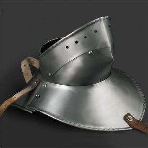 Gorget mit Bart type II 1480-1500