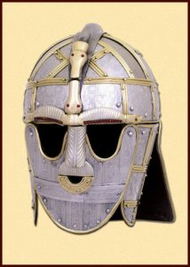 Viking Sutton Hoo helm 750-775 AD