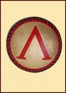 Grieks Hopliten Schild