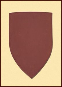 Wappenschild Stahl-Rohling
