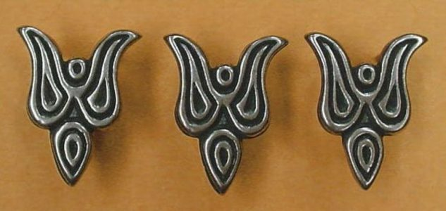 Wikinger belt fittings, Czarna Mogila, Russia WC349B