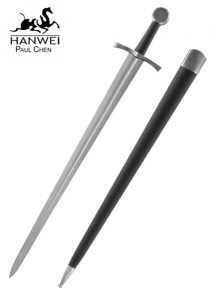 Mittelalter Einhander Tinker, Schaukampf Schwert mit geschärfter Klinge