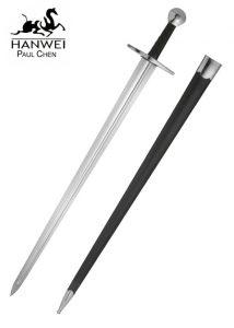 Mittelalter Einhander Sir William Marshall Schaukampf Schwert high Carbon