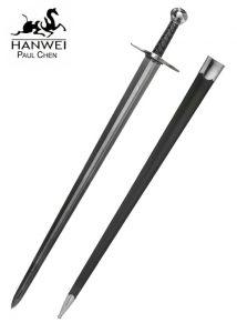Mittelalter Einhander Sir William Marshall Schaukampf Schwert Folded steel