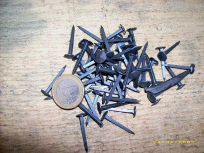 Machinaal Gesmede Spijkers 25mm (10 stuks)