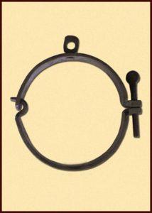 Mittelalterliche Halsschelle DHBMULF-CP-34