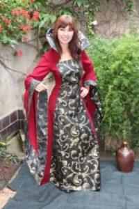 Middeleeuwse Jurk - Queen dress - Heksen Jurk