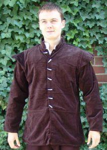 Mittelalter Jacke LC-6091 bruin