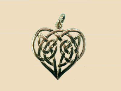 Keltische Liefdes Hanger Brons