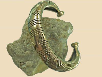 Keltischer Armreifen Replikat Bronze