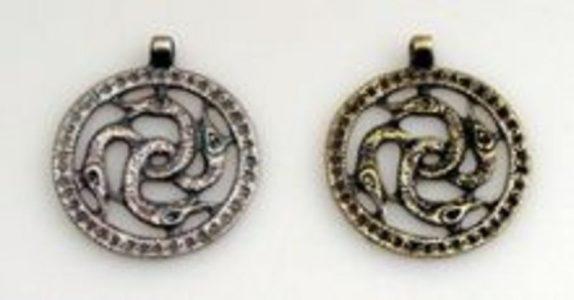 Wikinger Midgard Slange mit kord