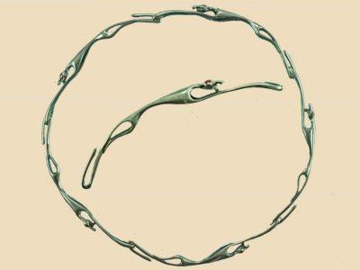 Keltische Halsring 100-200 v.Chr. brons