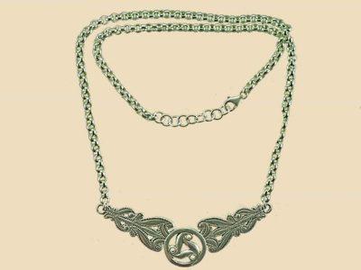 Keltische Ketting Zilver