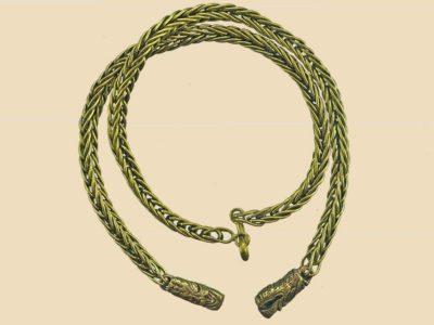 Viking Ketting 55cm Brons