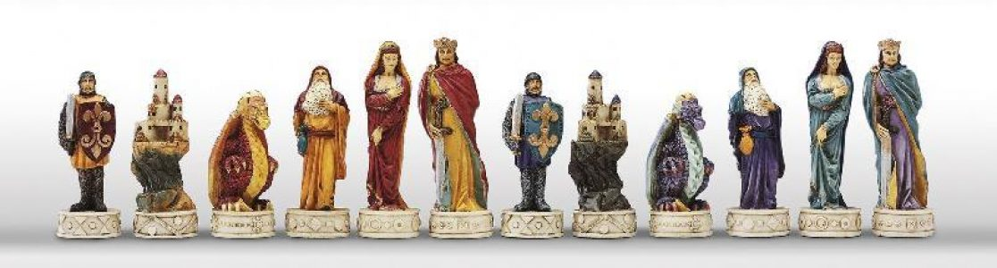 Mittelalter Chessstucke