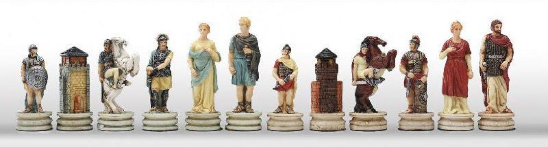 Grieken tegen Romeinen Schaakstukken