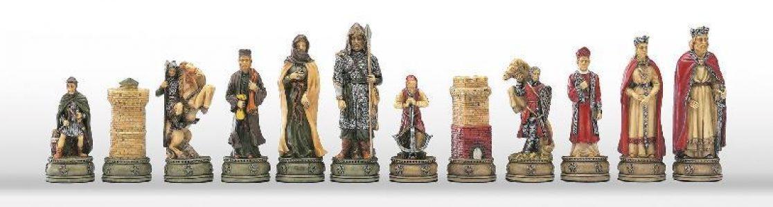Ridders van Camelot Schaakstukken
