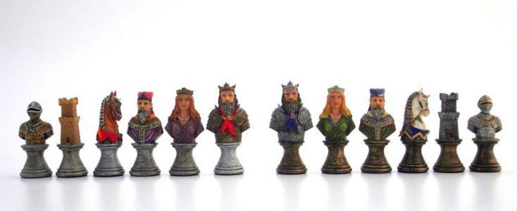 Mittelalterlichen Schachfiguren