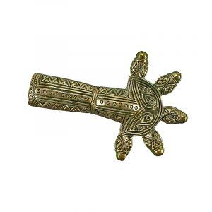 Allemaanse Beugel Fibula Brons