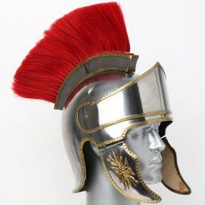 Attischer Helm mit Haarbusch