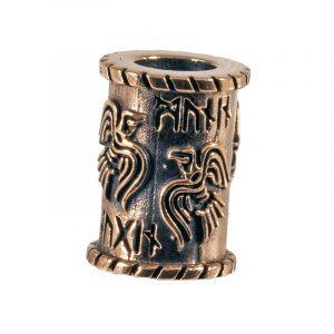 Baardkraal Viking Raaf Brons